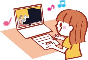 自宅から講座に参加 オンラインセミナー予約受付中